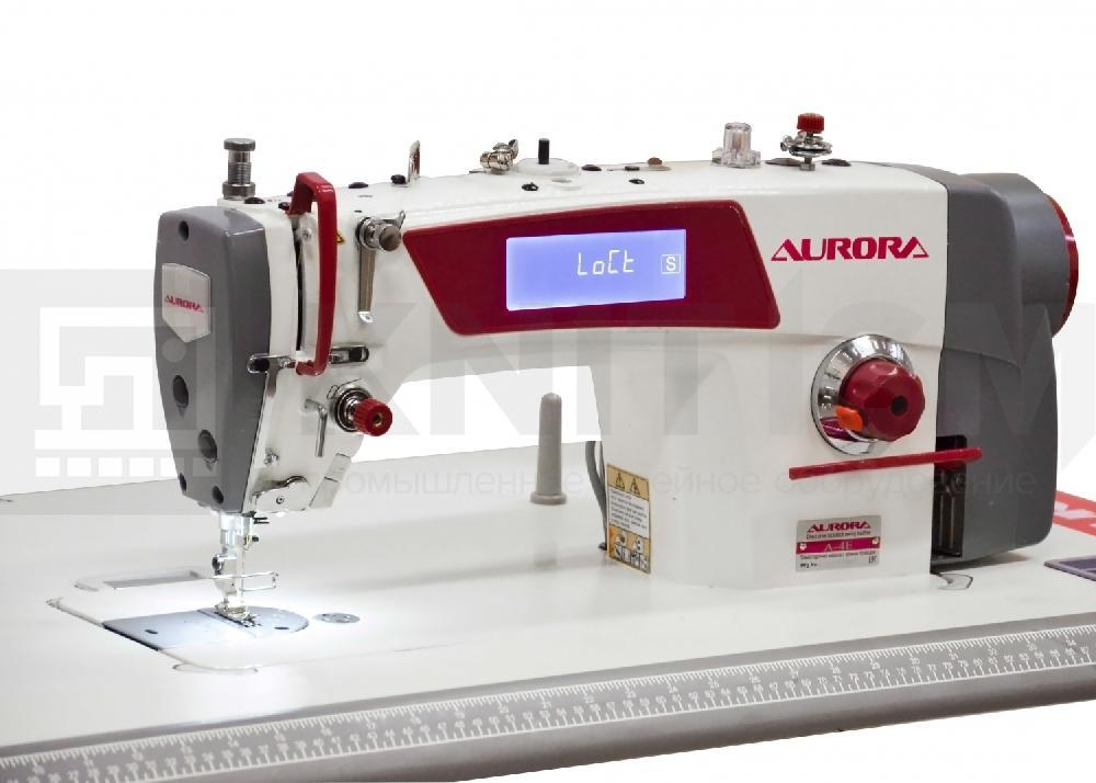 Промышленная швейная машинка aurora ткань плательная купить минск