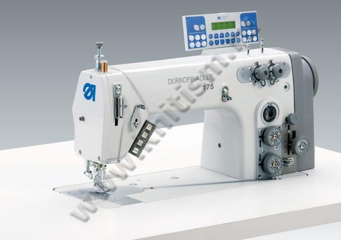 Одноигольная швейная машина челночного стежка с нижним транспортером подушки безопасности для транспортер т4