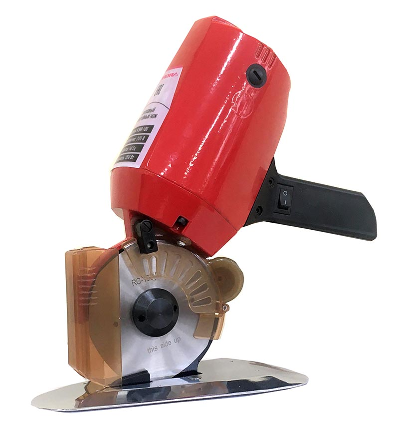Нож раскройный дисковый двигатель 800 ватт 36 вольт